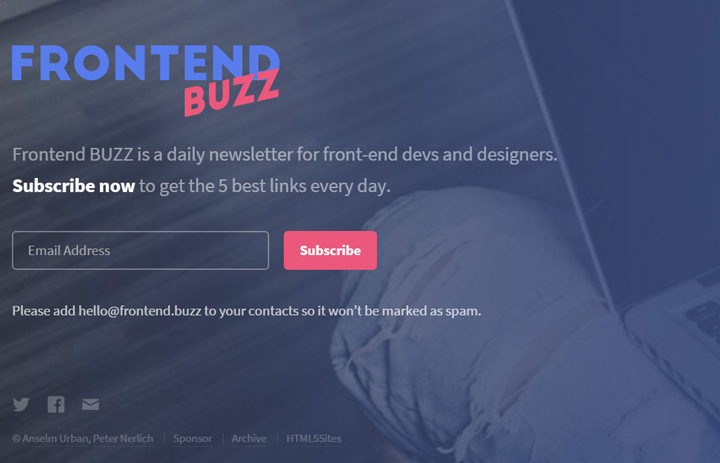 frontend buzz newsletter