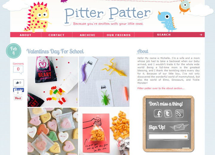 pittr pattr blog newsletter form