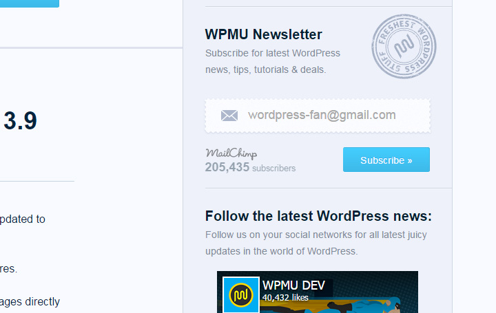 wpmu dev blog signup