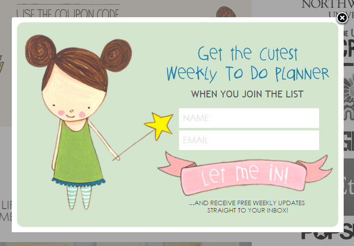 heartmade blog signup