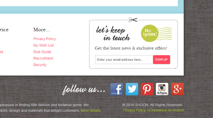 shoon womens shoes signup
