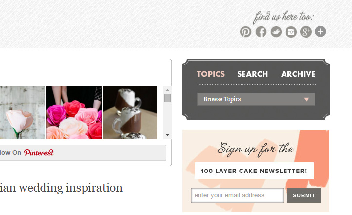 100 layer cake blog