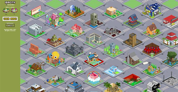 iso city isometric homepage