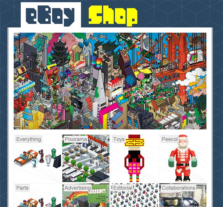 eboy pixel website