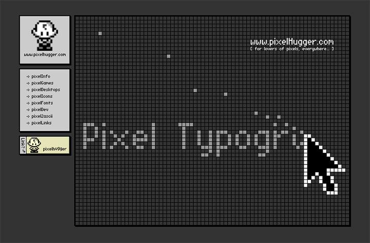 pixel hugger website