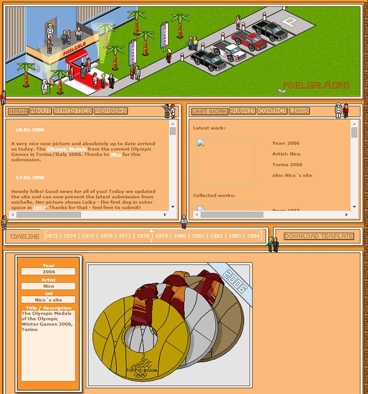 pixel gala website