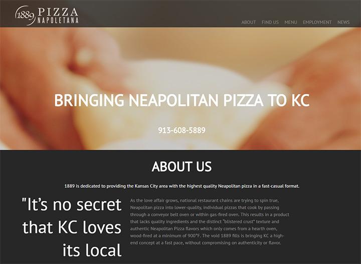 pizza napoletana 1889