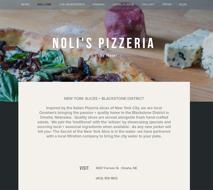 nolis pizzeria