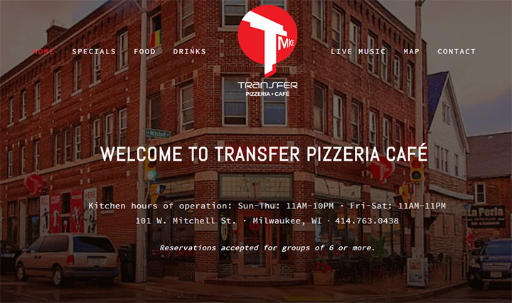 transfer pizza