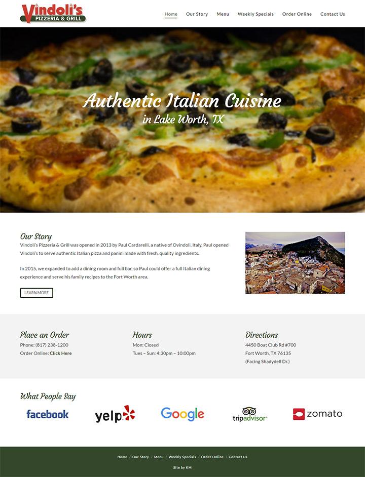 vinoldis pizza