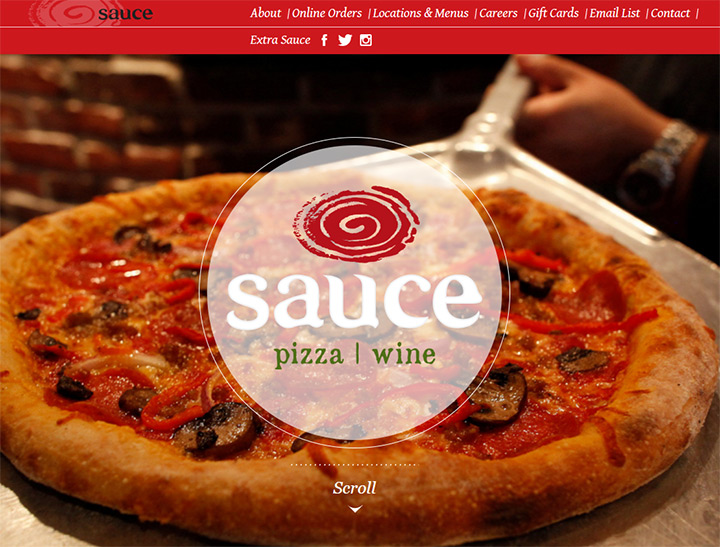 sauce pizza wine