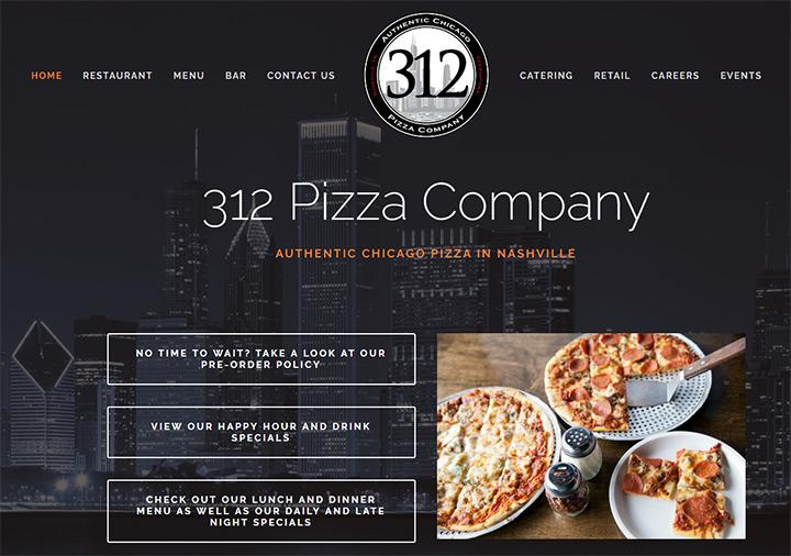 pizza company 312