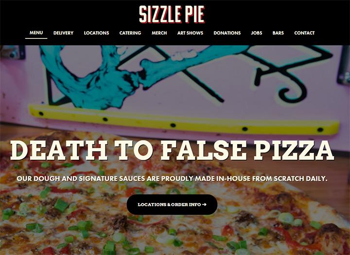 sizzle pie