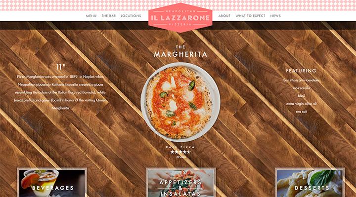 il lazzarone pizza