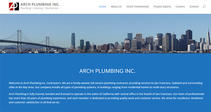 arch plumbing