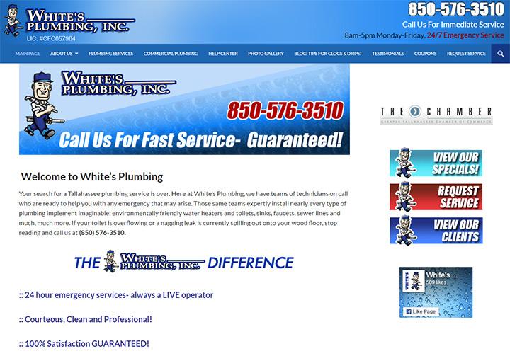 whites plumbing