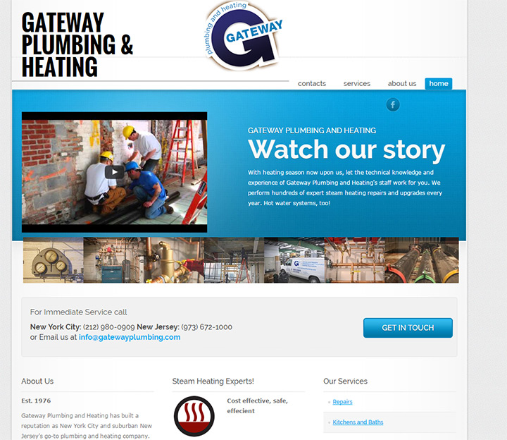 gateway plumbing website