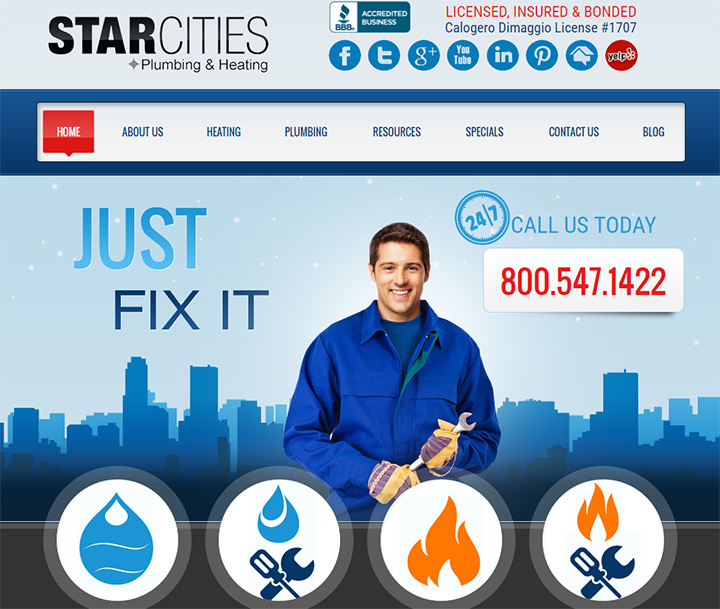 star cities heating plumbing