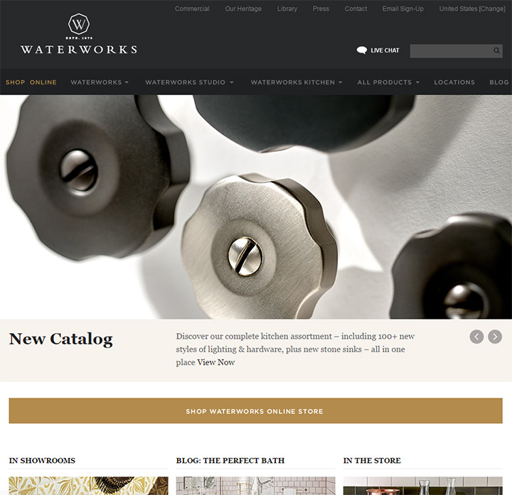 waterworks website