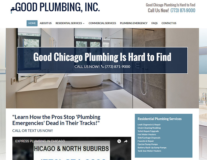 good plumbing website