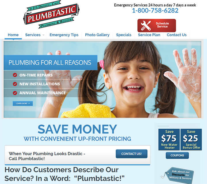 plumbtastic website