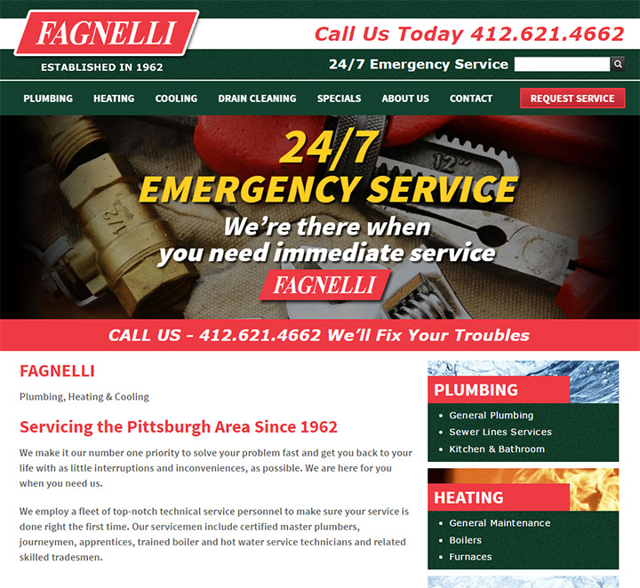 fagnelli website