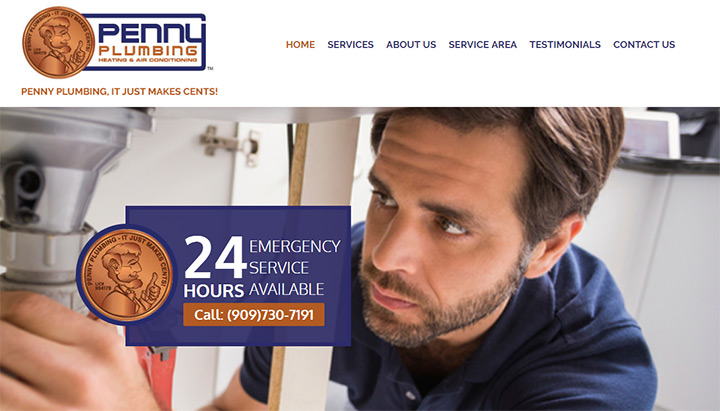 penny plumbing website