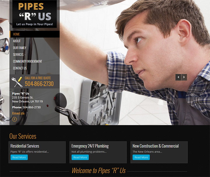 pipes r us website