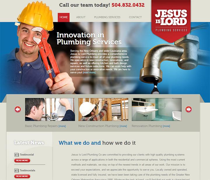 jesus lord plumbing