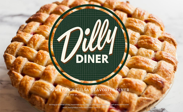 dilly diner website