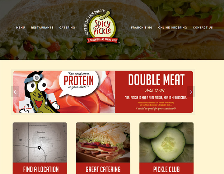 spicy pickle website