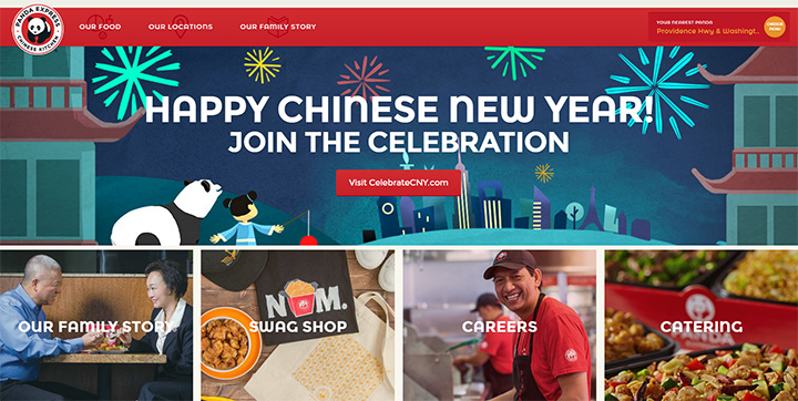 panda express website