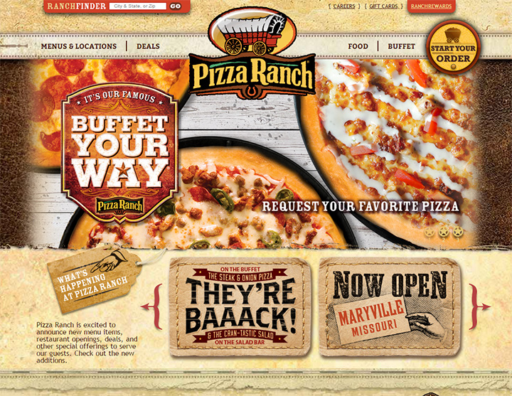 pizza ranch homepage