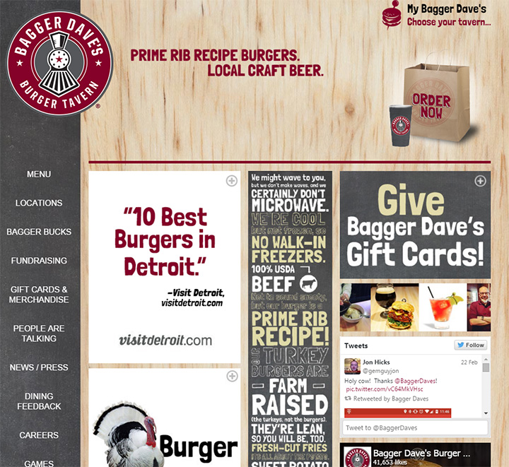bagger daves website
