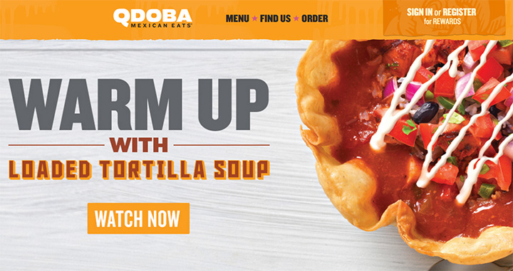 qdoba mexican website