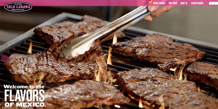 taco cabana website