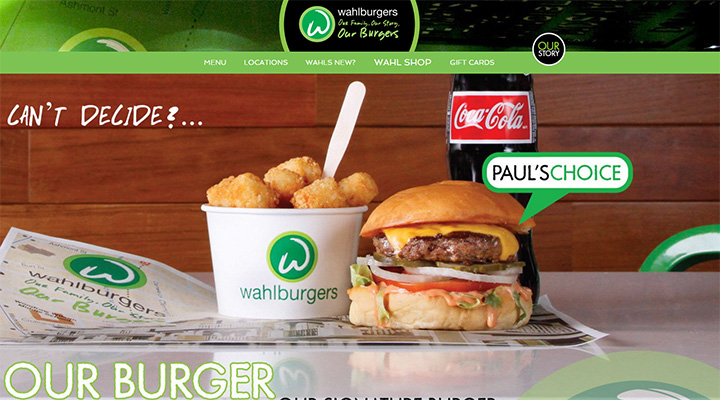 wahlburgers website