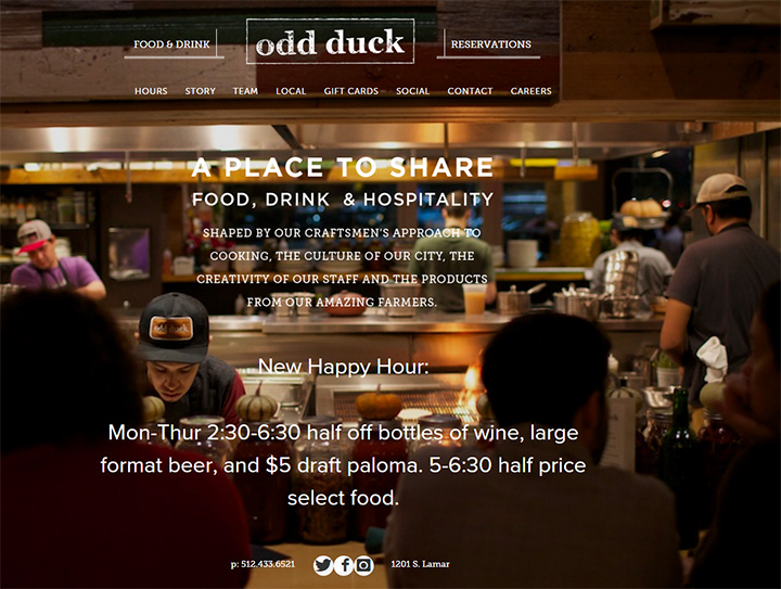 odd duck website