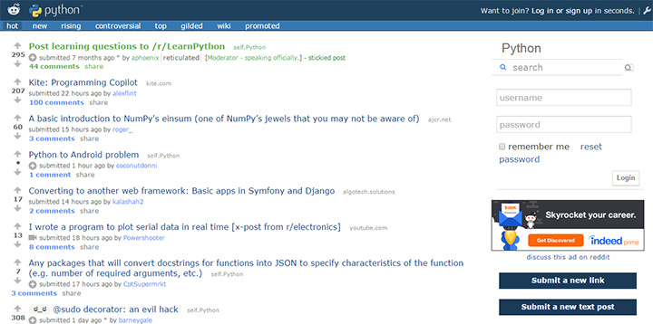 Top 30 Subreddits For Web Developers