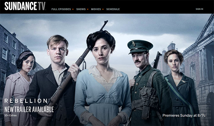 sundance tv channel website
