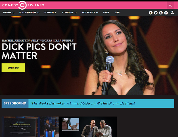 comedy central tv website