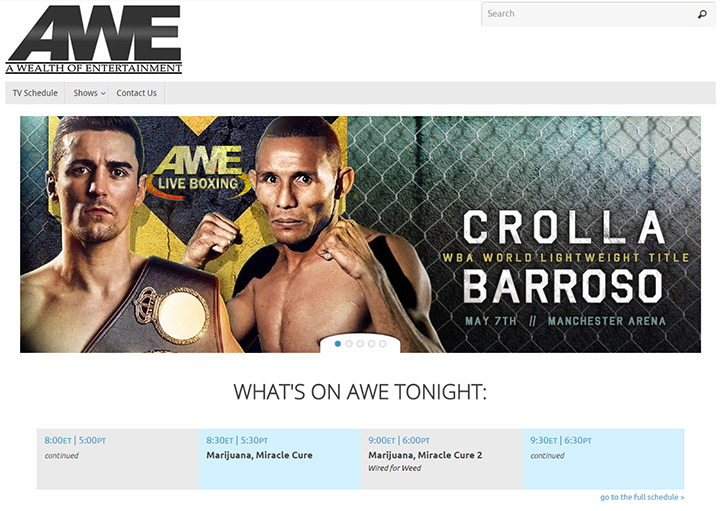 awe tv network website