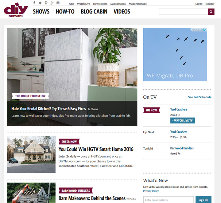 diy network website