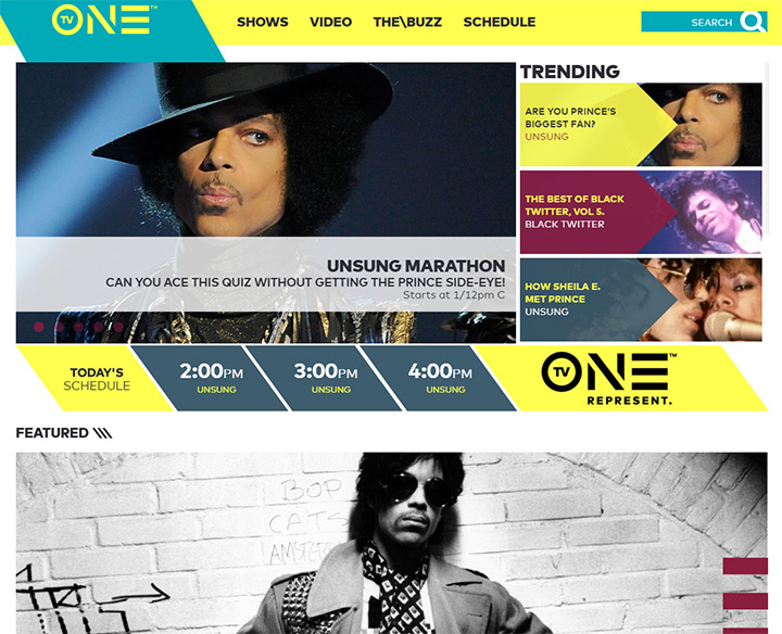tv one channel website