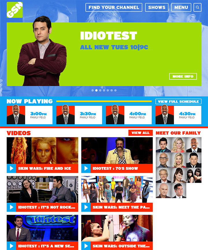 gameshow network website
