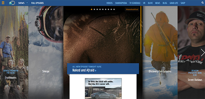 discovery network website