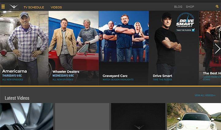 velocity website