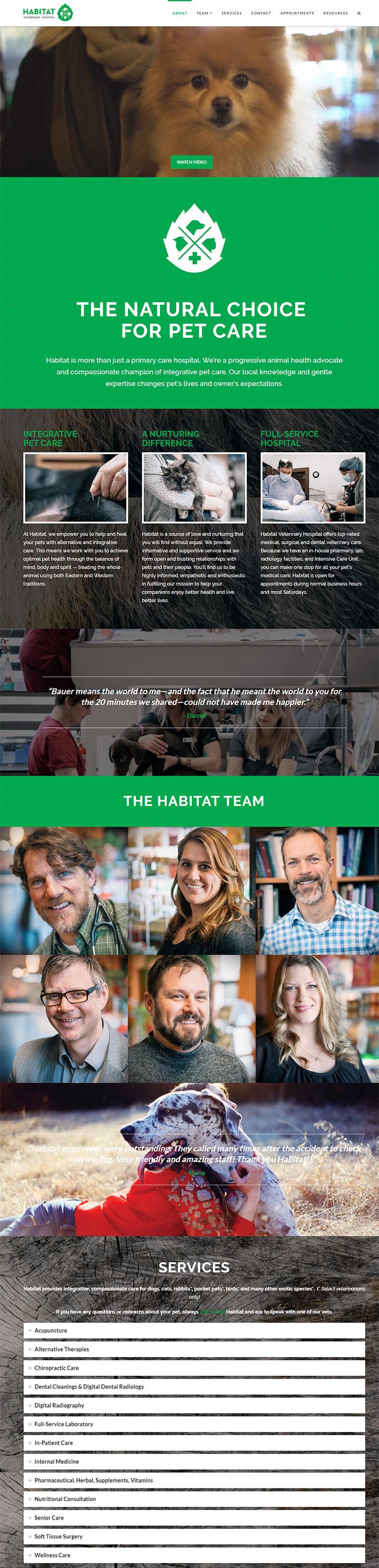 habitat vet hospital