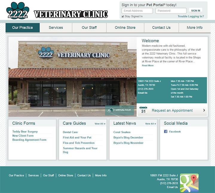 veterinary clinic 2222