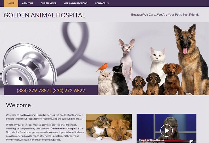 golden animal hospital